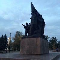 Photo taken at Мемориал Героям Ольшанцам by VladimIra M. on 10/26/2015