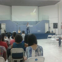 Photo taken at Comunidade Evangélica Semeando by Mateus L. on 2/24/2013