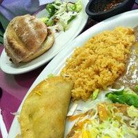 Photo taken at Mangos Mexican Café by Gwen G. on 2/7/2013