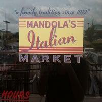 Photo taken at Mandola's Italian Market by Holly H. on 5/26/2013
