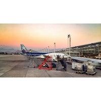 Photo taken at Comodoro Arturo Merino Benitez International Airport (SCL) by Ryan T. on 9/25/2013