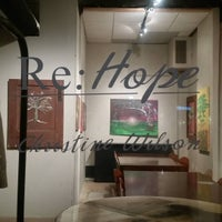 Photo taken at Redtree Art Gallery and Coffee Shop by Angela K. on 3/12/2016
