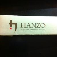 Photo taken at Hanzo by Carolina S. on 2/17/2013