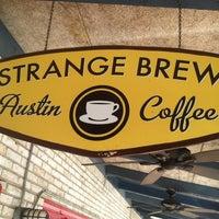 Photo taken at Strange Brew Austin Coffee by Dan F. on 2/12/2013