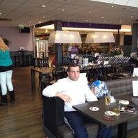 Photo taken at Brasserie Zuidplein by Maxim D. on 4/22/2013