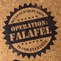 Photo taken at Operation:Falafel by Nour E. on 3/20/2014