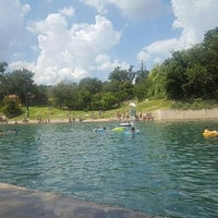 Photo taken at Barton Springs Playground by Andres I. on 9/17/2016