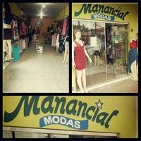 Photo taken at Loja Manancial by Laressa M. on 4/18/2013