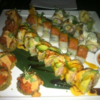 Photo taken at Takayama Sushi Lounge by Joe A. on 10/16/2012