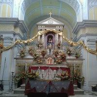 Photo taken at Basilica Shrine Sardhana by sonia r. on 12/26/2013