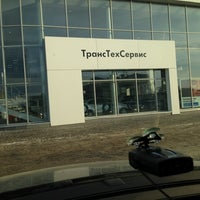Photo taken at Volkswagen ТрансТехСервис by Bulat V. on 2/11/2013