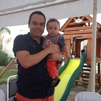 Photo taken at Quinta Rebeca by Gladys S. on 8/30/2014