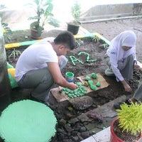 Photo taken at SMA Negeri 2 Medan by Alvira S. on 3/29/2014
