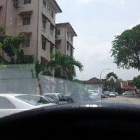Photo taken at Kompleks Perumahan Pegawai Kanan PDRM by Mohd Azhan D. on 5/14/2013