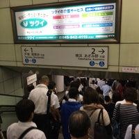 Photo taken at Subway Kamiooka Station by Koji N. on 9/27/2017