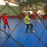Photo taken at Futsal Town by Debby Febrina R. on 10/5/2013