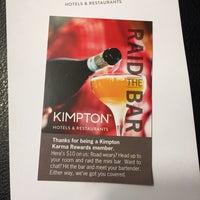 Das Foto wurde bei Kimpton Brice Hotel von DC am 12/28/2016 aufgenommen