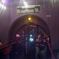 Photo taken at Bourbon Street by Andres M. on 6/26/2013