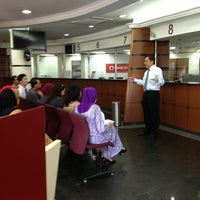 Photo taken at CIMB Bank by Noraida J. on 4/2/2013