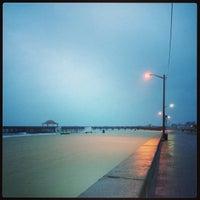 Photo taken at Buckroe Beach by Ricky M. on 8/17/2013
