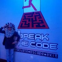 Photo taken at Break the code by Syaliana S. on 9/2/2014