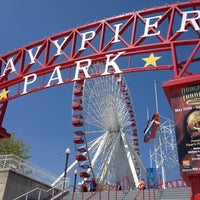 Photo taken at Navy Pier by Tina J. on 5/1/2013