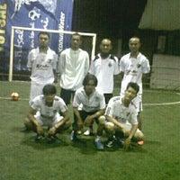 Photo taken at Arrayan Futsal by Teguh E. on 5/8/2013