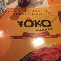 Photo taken at Yoko Sizzlers by Sachin S. on 9/18/2017