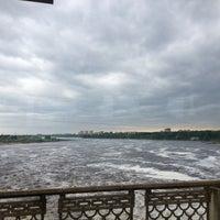 Снимок сделан в Плотина Иваньковской ГЭС пользователем Энничкин💗 К. 5/29/2013
