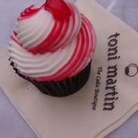 Photo taken at Toni Martin Cupcake Boutique by Olga N. on 11/19/2012