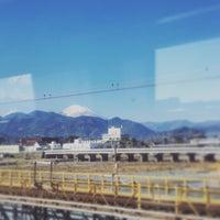 Photo taken at 小田急線 酒匂川橋梁 by M.AOKI on 1/1/2016