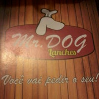 Photo taken at Mr. Dog Lanches by Luciano B. on 10/20/2013