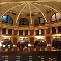 Photo taken at Fisher Fine Arts Library by Ryan L. on 12/5/2013