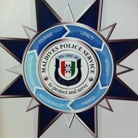 Photo taken at Kulhudhuffushi Police Station by Kims W. on 7/18/2013