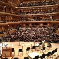 Photo taken at La Maison Symphonique de Montréal by Ian O. on 12/13/2012
