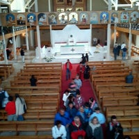 Photo taken at Catedral De Valdivia by Felipe I. on 2/10/2013