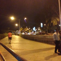 Photo taken at Carter Road Promenade by Sanil S. on 2/26/2013