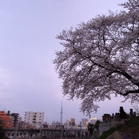 Photo taken at 芋坂跨線橋 by Taku 目. on 3/23/2013