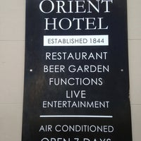 Photo taken at The Orient Hotel by Taku 目. on 10/3/2013