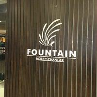 Photo taken at Fountain Money Changer by Taku 目. on 3/31/2014