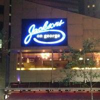 Photo taken at Jackson's On George by Taku 目. on 10/3/2013