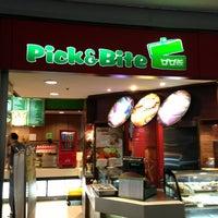 Photo taken at Pick & Bite by Taku 目. on 8/2/2013
