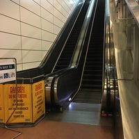 Photo taken at Dakota MRT Station (CC8) by Taku 目. on 1/15/2017