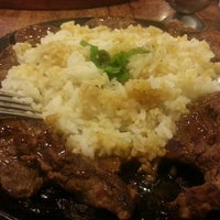 Photo taken at The Sizzlin' Pepper Steak by Lyra M. on 8/23/2013