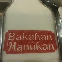Photo taken at Bakahan At Manukan by Lyra M. on 4/24/2013
