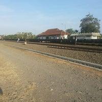 Photo taken at Stasiun Patukan by Fajar J. on 10/13/2013