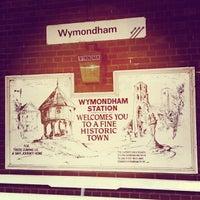 Photo taken at Wymondham Railway Station (WMD) by Julia D. on 4/26/2013