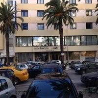 Photo taken at Hotel Belvédère by Ikram R. on 1/20/2014