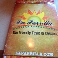 Photo taken at La Parrilla by Josh V. on 3/14/2013