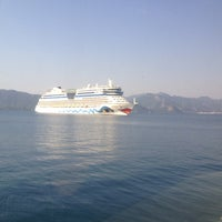 Photo taken at Rodos - Marmaris Feribotu by Tolga G. on 6/27/2013